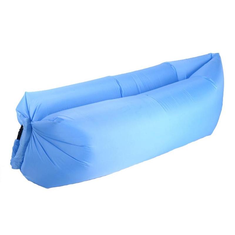 Sezlong gonflabil Maxtar, 240 x 70 cm, Albastru 2021 shopu.ro