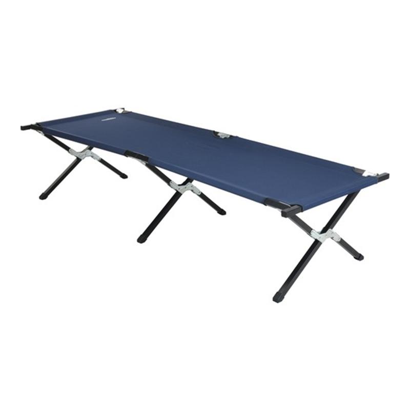 Sezlong pliabil, 190 x 62 x 42 cm, tesut textil, cadru metal, Albastru 2021 shopu.ro