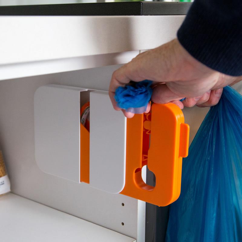 Sigilator pentru pungi Sealbag, universal, Alb/Portocaliu