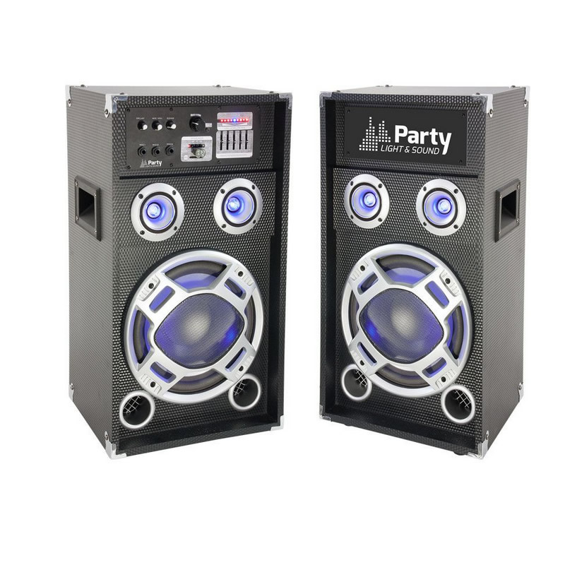 Sistem Boxe Party Sound, 400W, Bluetooth, USB/SD, negru 2021 shopu.ro