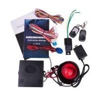 Sistem alarma auto PY-Y-3018, 2 telecomenzi, sirena 6 tonuri