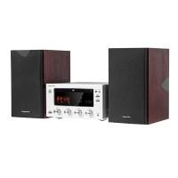 Sistem audio Kruger & Matz, amplificare pe lampi electronice, LCD, USB, NFC, Bluetooth
