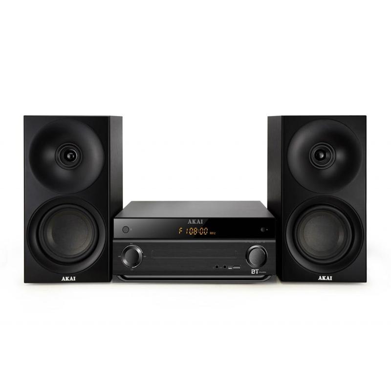 Sistem bluetooth 3.0 Akai, 2 x 20 W, 40 canale, tuner FM, 1 x RCA, 1 x Aux, telecomanda 2021 shopu.ro