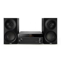 Sistem bluetooth 3.0 Akai, 2 x 20 W, 40 canale, tuner FM, 1 x RCA, 1 x Aux, telecomanda