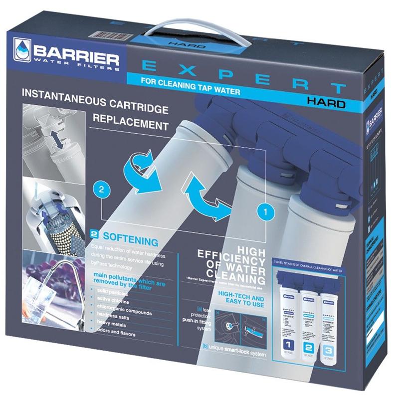 Sistem de filtrare apa in 3 etape, Barrier Expert Hard 2021 shopu.ro