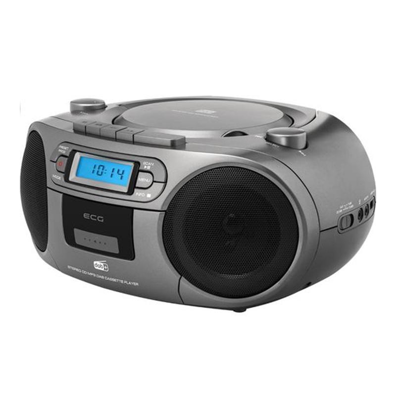 Sistem audio Ecg, 2 x 1.5 W, RMS, radio, USB/CD, maxim 32 gb, aux 3.5 mm, memorare 20 posturi 2021 shopu.ro