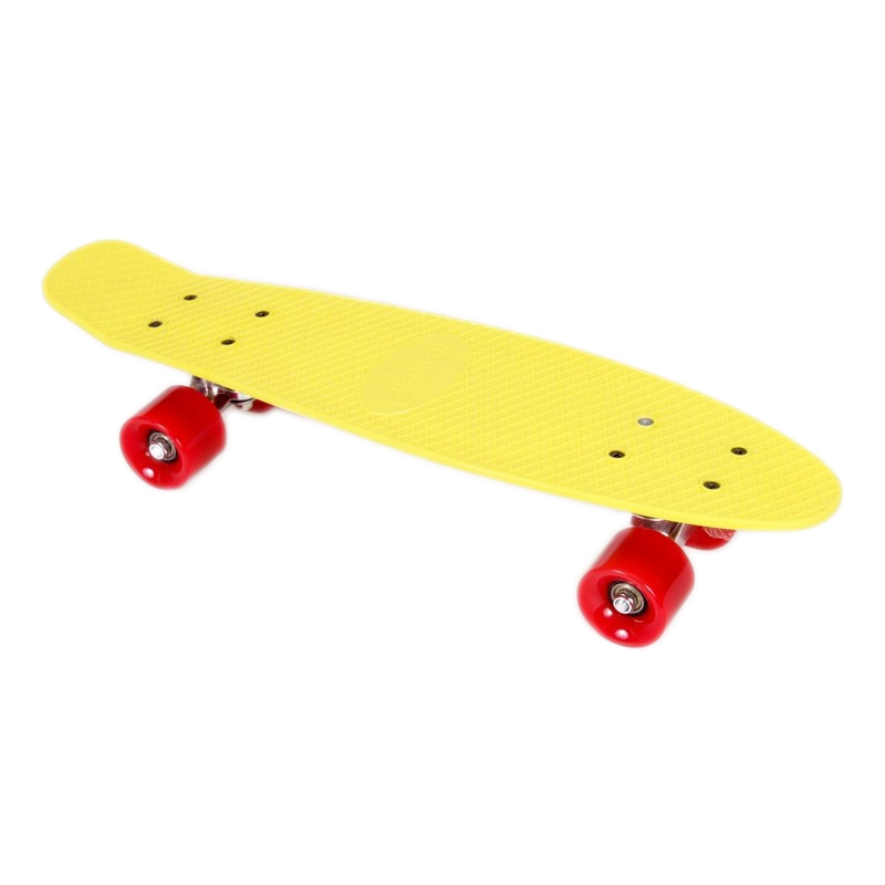 Skateboard Energy Maxtar, 56 cm, Galben