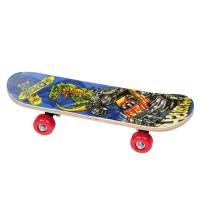 Skateboard pentru copii, 60 cm, lemn