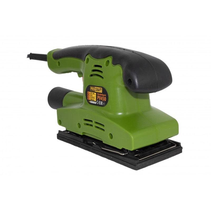 Slefuitor cu vibratii ProCraft PV450, 450 W, 10000 rpm, banda 187 x 90 mm shopu.ro