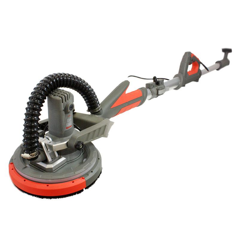 Slefuitor pliabil cu aspirator pentru pereti Almaz, 750 W, 1750 rpm, 225 mm, LED shopu.ro