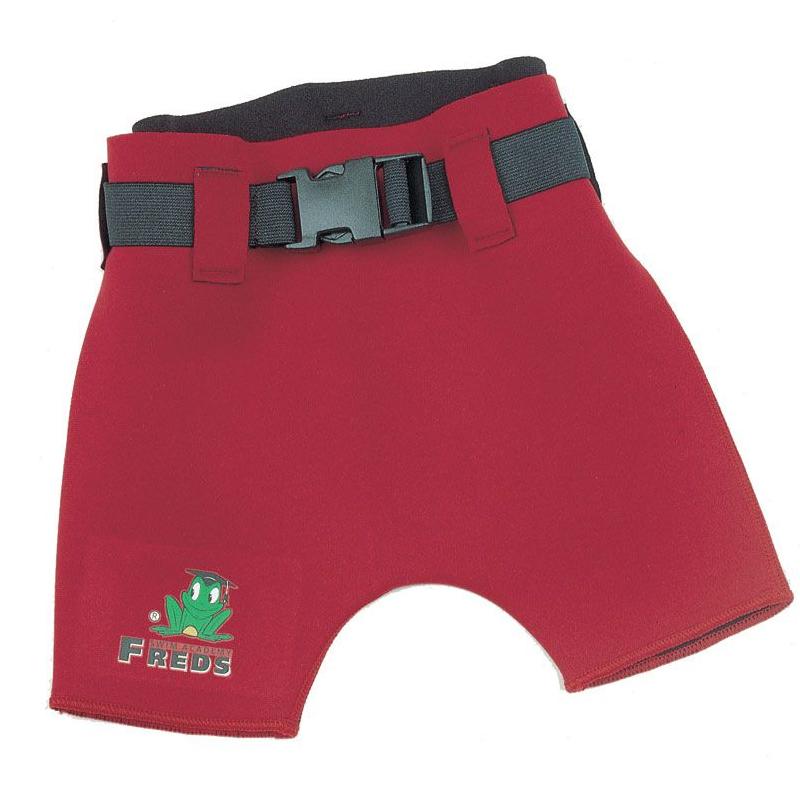 Slip Pantalon scurt copii din neopren, marime 104, Rosu 2021 shopu.ro