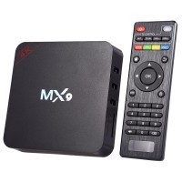Smart TV Box Android Mini PC Ultra-HD 4K, telecomanda