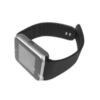 Smartwatch Siegbert Smart Multifunctional iWatch, 128 MB, microUSB, camera, sincronizare SMS, redare audio/video, Argintiu