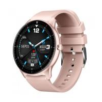 Smartwatch iHunt Watch 6 Titan, Bluetooth 5.0, display 1.28 inch, 240 mAh, telecomanda, Titan Pink