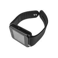 Smartwatch Siegbert Smart Multifunctional iWatch, 128 MB, microUSB, camera, sincronizare SMS, redare audio/video, Negru