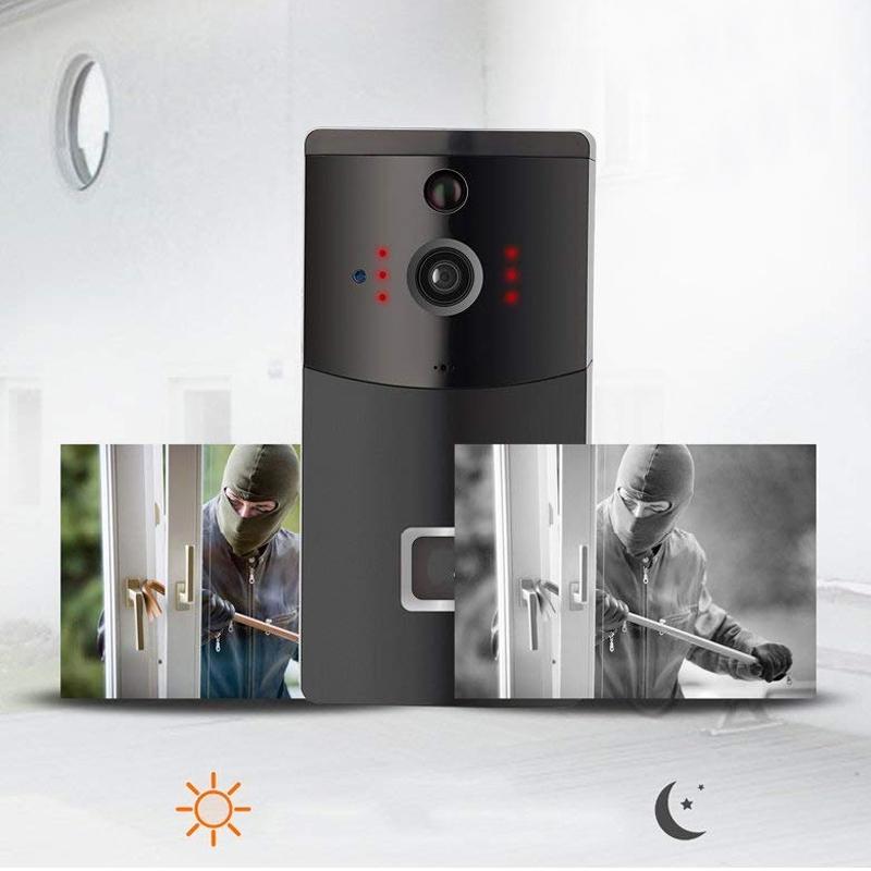 Sonerie video inteligenta, detectare miscare, filmare HD