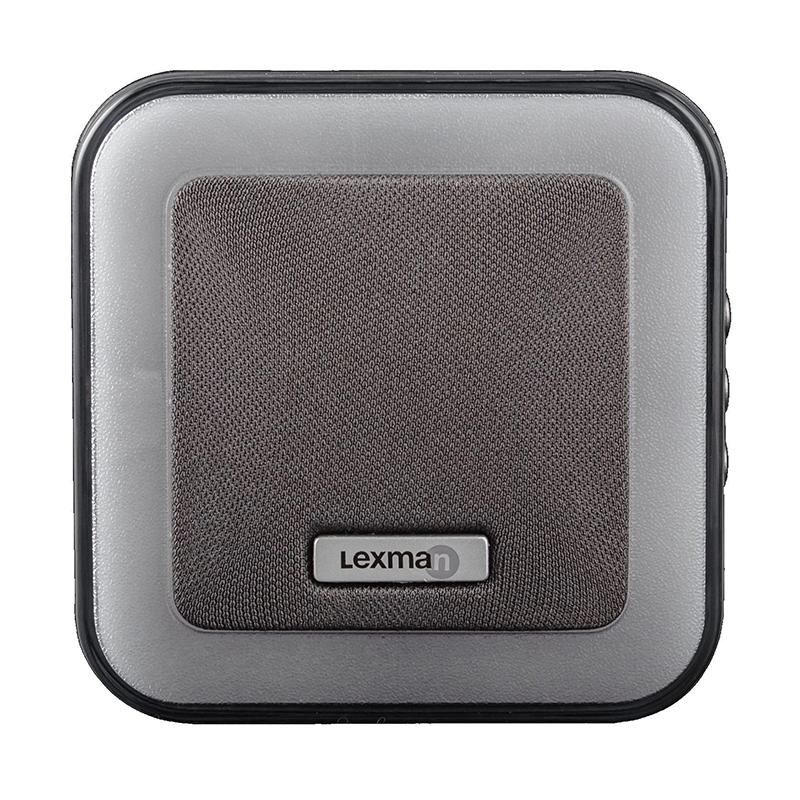 Sonerie fara fir Kinetic Lexman, 85 dB, 230 V, raza actiune 150 m, 7 melodii, volum reglabil, Gri 2021 shopu.ro