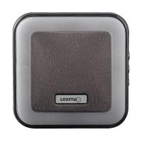 Sonerie fara fir Kinetic Lexman, 85 dB, 230 V, raza actiune 150 m, 7 melodii, volum reglabil, Gri