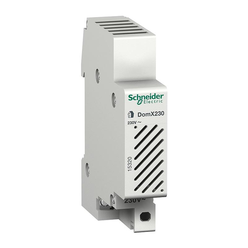 Sonerie pentru tablou electric Schneider, 80 dB, 230 V, Alb 2021 shopu.ro