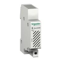 Sonerie pentru tablou electric Schneider, 80 dB, 230 V, Alb