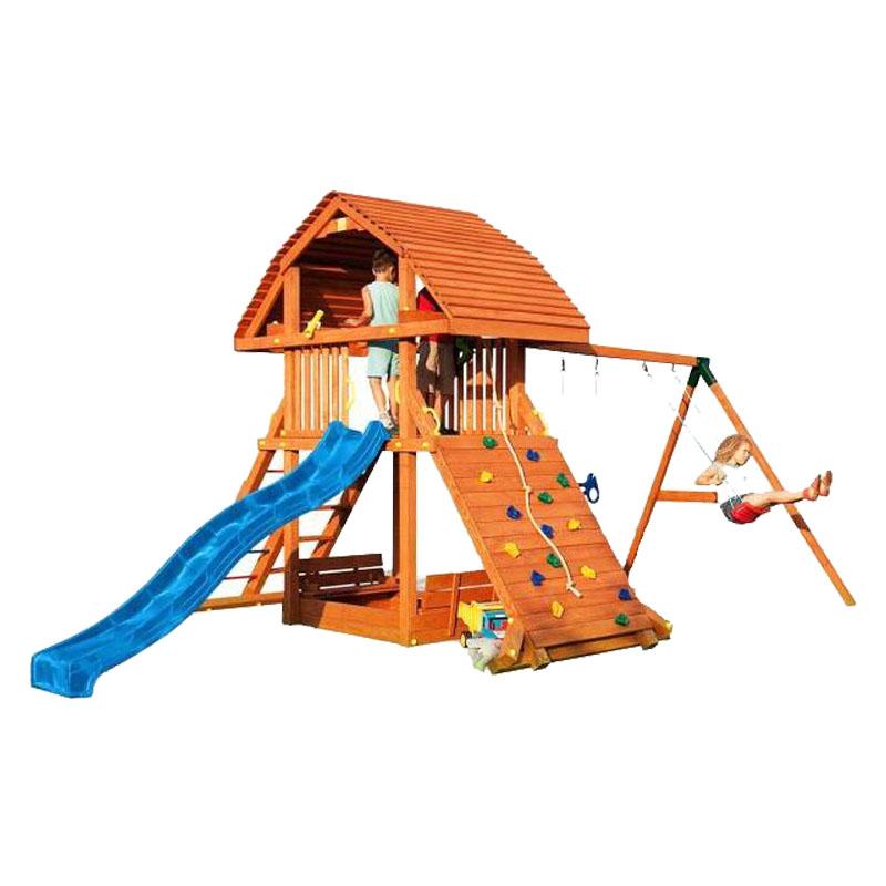 Spatiu de joaca pentru copii cu leagane Fungoo Giant, 3 ani+