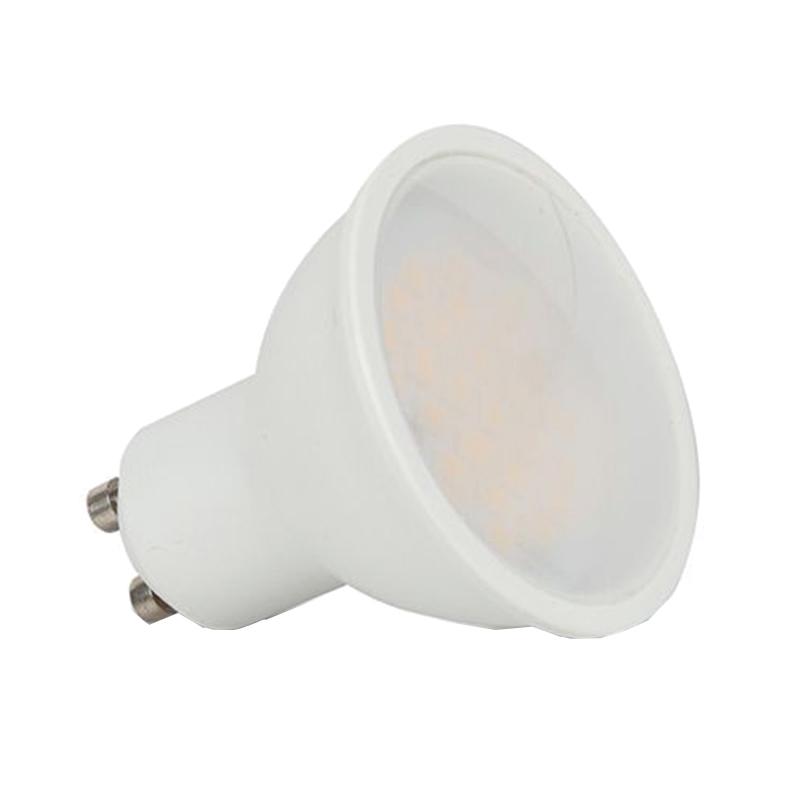 Spot cu LED, 5 W, 400 lm, 4000 K, soclu GU10, lumina alb neutru, cip Samsung, forma PAR16 shopu.ro