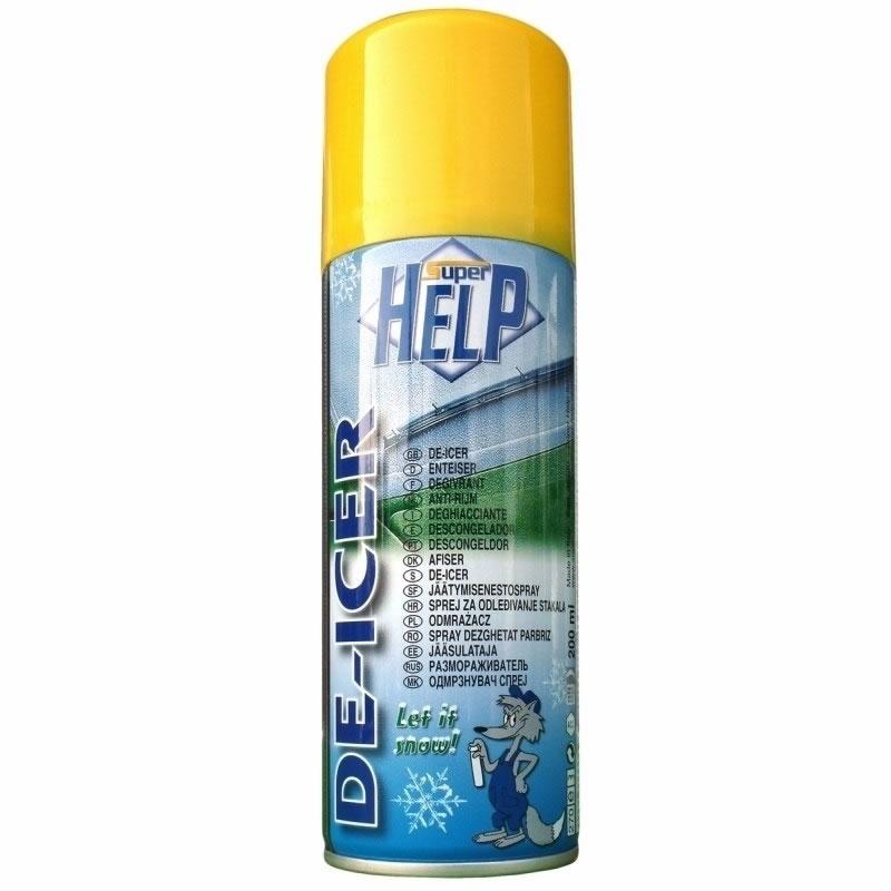 Spray dezghetat geamuri Super Help, 200 ml 2021 shopu.ro