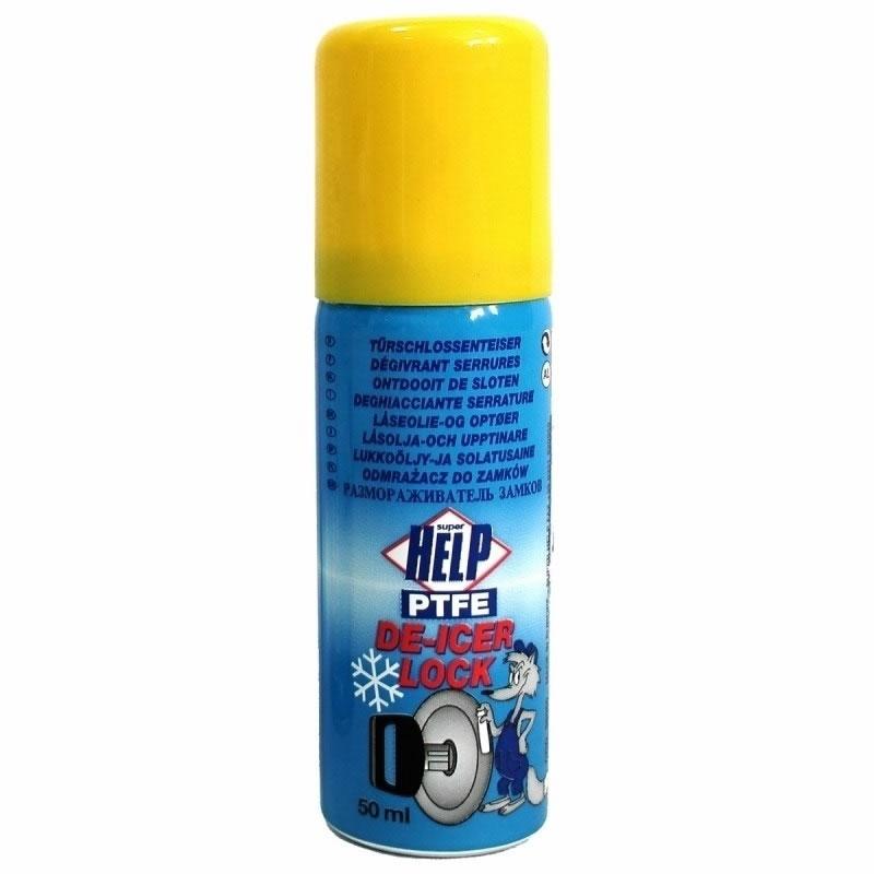 Spray dezghetat incuietori Super Help, 50 ml 2021 shopu.ro