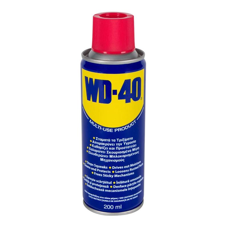 Spray pentru deblocarea mecanismelor intepenite WD-40, 200 ml 2021 shopu.ro