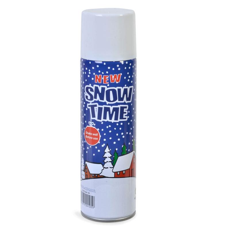 Spray zapada artificiala alba Snow Time, 250 ml 2021 shopu.ro