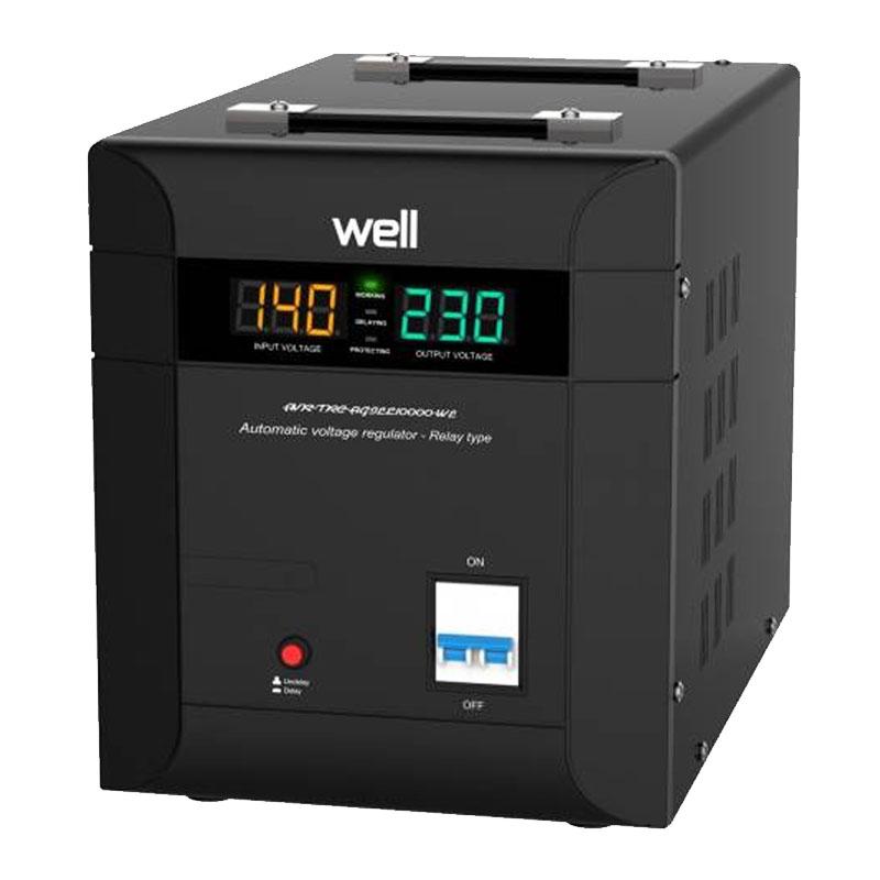 Stabilizator automat de tensiune Agile Well, protectie IP20, 10000 VA