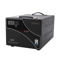 Stabilizator de tensiune cu servomotor Well, 10KVA/6000W