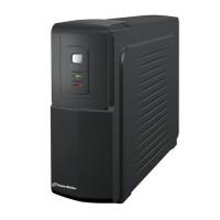 Stabilizator tensiune UPS off-line Powerwalker, 600 VA/360 W, baterie 12 V/7 Ah, iesire 2 x Shuko