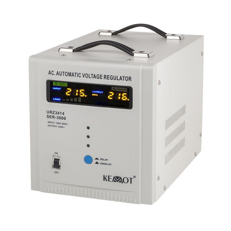 Stabilizator tensiune automat Kemot, 3000 VA shopu.ro