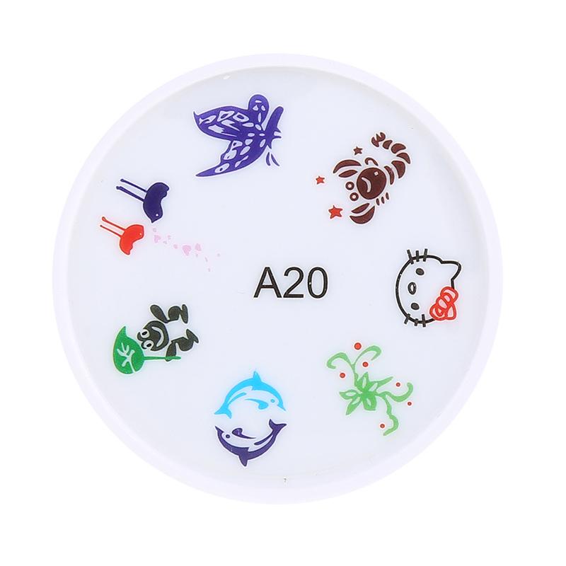 Stampila pentru unghii MMM3-A20, model animale 2021 shopu.ro