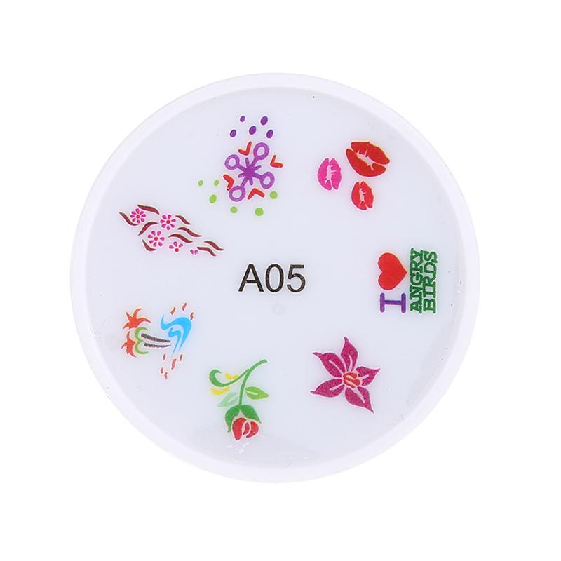 Stampila pentru unghii MMM3-A5, model floral 2021 shopu.ro