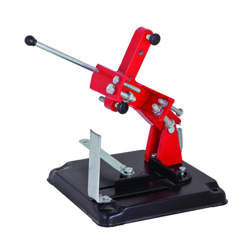 Stand cu masa pentru polizor Raider, 115 mm, unghi taiere reglabil shopu.ro