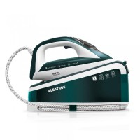 Statie de calcat Albatros Royal Steam Care, 3000 W, rezervor 1.5 l, calcare verticala, Verde