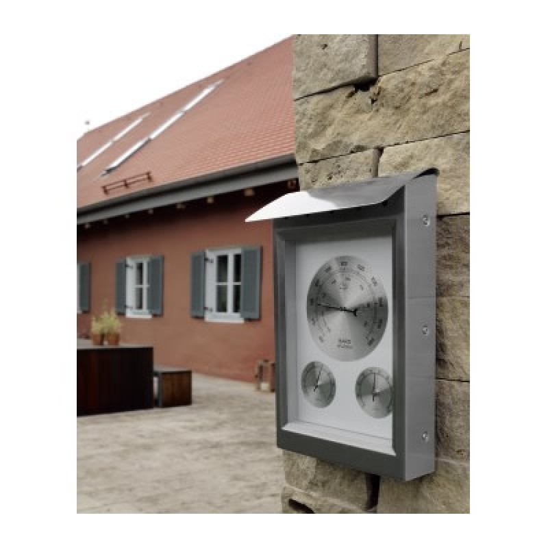 Statie meteo Milano, ecran analog, termometru