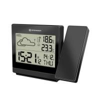 Statie meteo cu proiector Bresser P RC, termometru, alarma