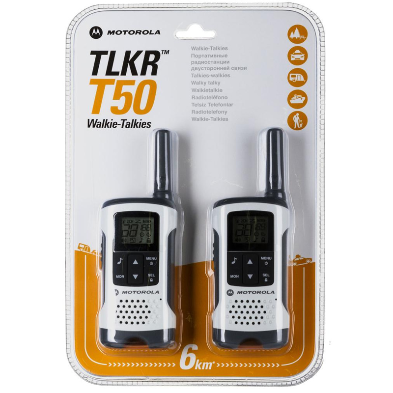 Statii radio profesionale Motorola T50, 6 Km, LCD