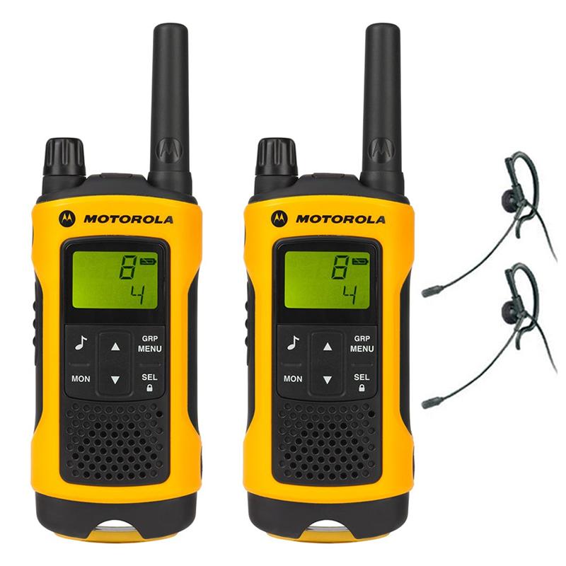 Statii radio profesionale Motorola T80 Extreme, 10 km, LCD