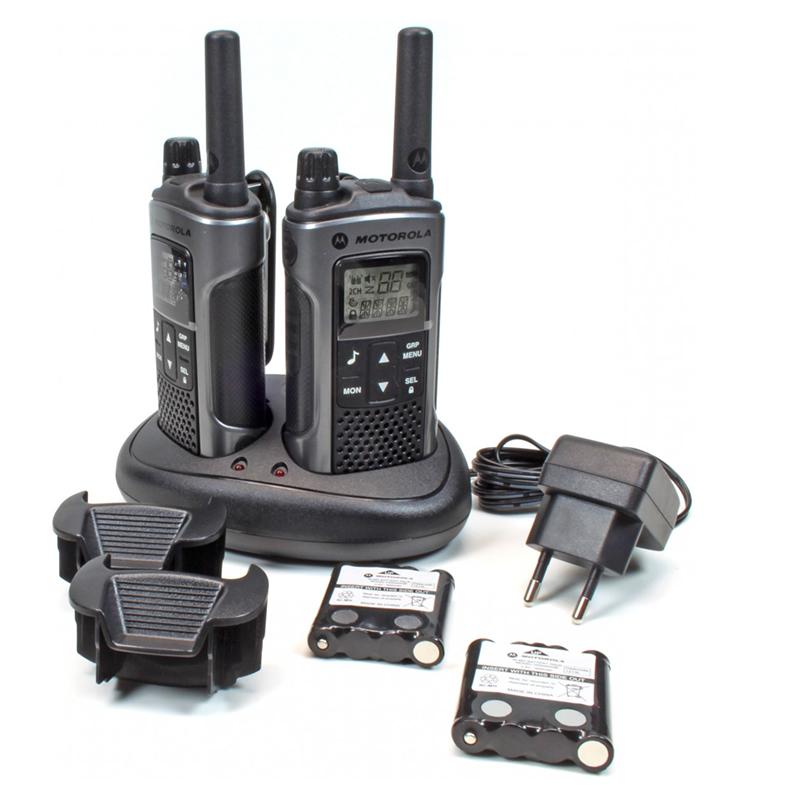 Statii radio profesionale Motorola T80, 10 Km, LCD