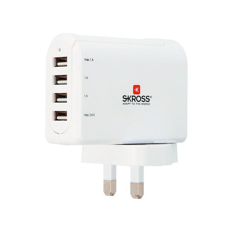 Stecher Skross, EU cu 4 x USB 2021 shopu.ro