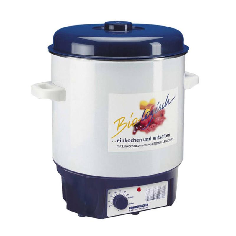 Sterilizator borcane Rommelsbacher, 1800 W, 27 l, 14 borcane, termostat 2021 shopu.ro