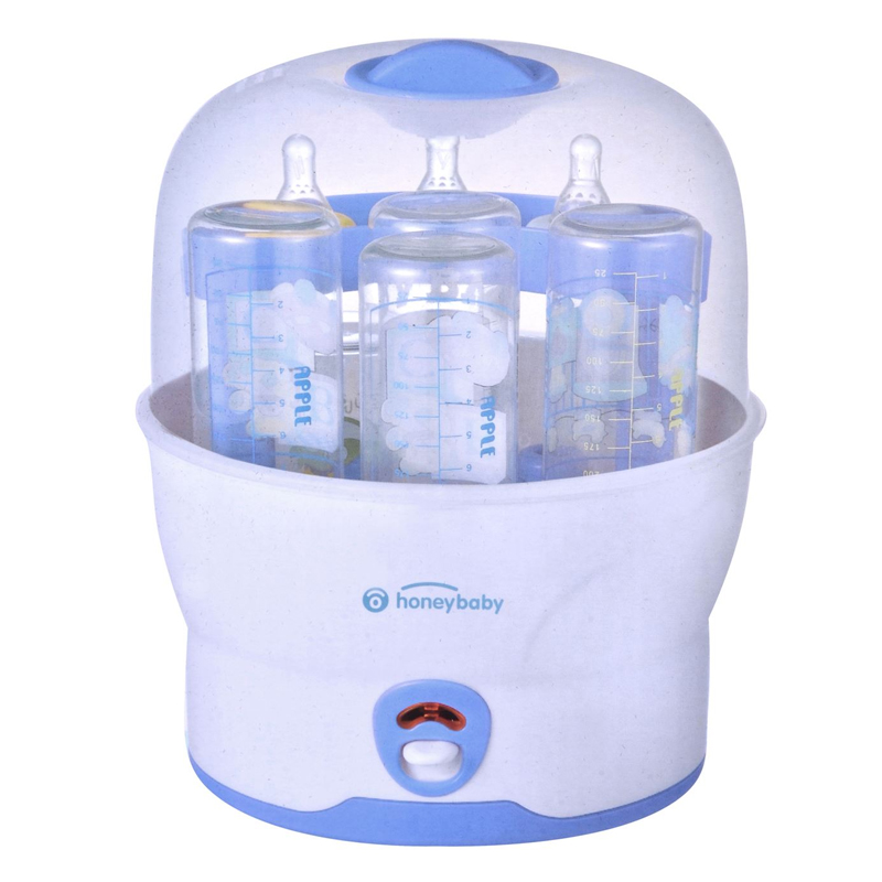 Sterilizator sticle Honey Baby, 500 W, 6 sticle 2021 shopu.ro