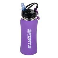 Sticla pentru drumetii Sports, 500 ml, Mov
