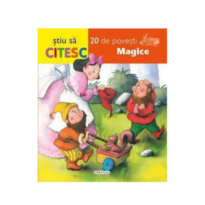 Stiu sa citesc - 20 de povesti magice, editura Girasol 2021 shopu.ro