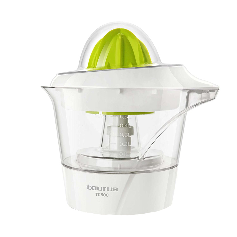 Storcator citrice Taurus, 40 W, 0.5 l, functie reverse, Alb/Verde 2021 shopu.ro