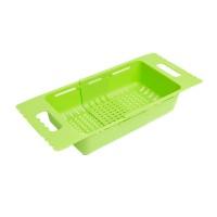 Strecuratoare pentru spalat legume/fructe, 505 x 185 x 78 mm, plastic, Verde